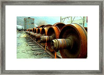 Big Wheels Framed Print by Will Boutin Photos