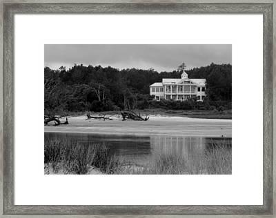 Big White House Framed Print