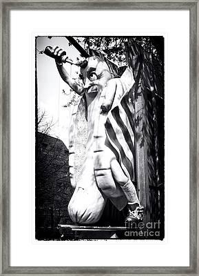 Big Wiener Framed Print