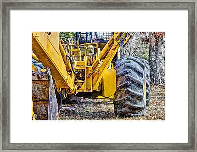 Big Yellow Framed Print by JC Findley