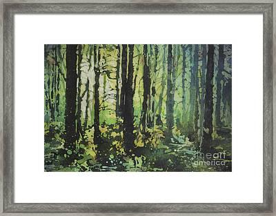 Bigfoot Sighting Framed Print by Ryan Fox