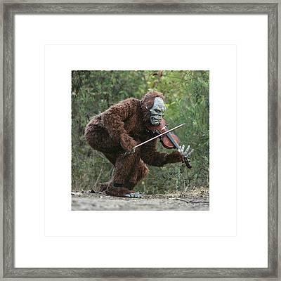 Bigfoot Viola Framed Print