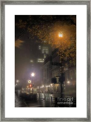 Framed Print featuring the photograph Bigga Mist by Robert McCubbin