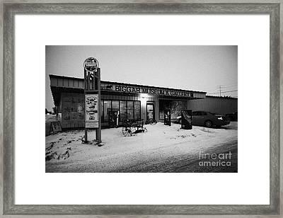 Biggar Museum And Gallery Saskatchewan Canada Framed Print