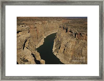 Bighorn Canyon Framed Print by Mark Newman