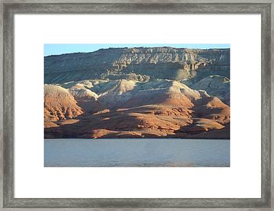 Bighorn Lake Framed Print