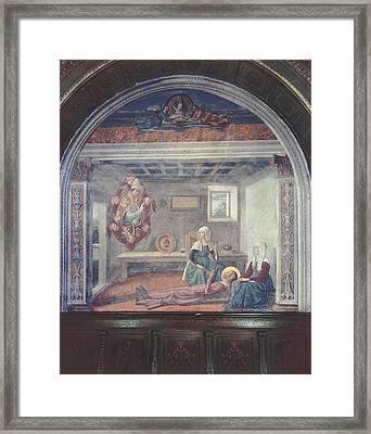 Bigordi Domenico Known As Ghirlandaio Framed Print by Everett