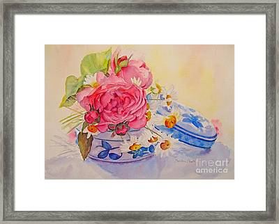Framed Print featuring the painting Bijoux by Beatrice Cloake