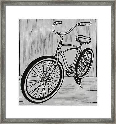 Bike 6 Framed Print by William Cauthern