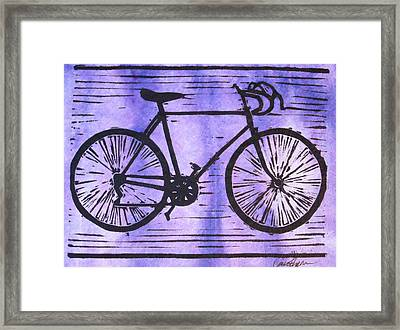 Bike 8 Framed Print by William Cauthern