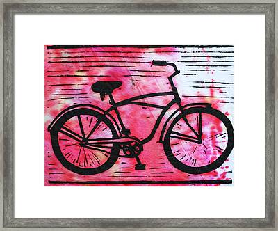 Bike 9 Framed Print by William Cauthern