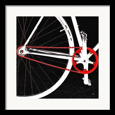 Pushbike Framed Prints