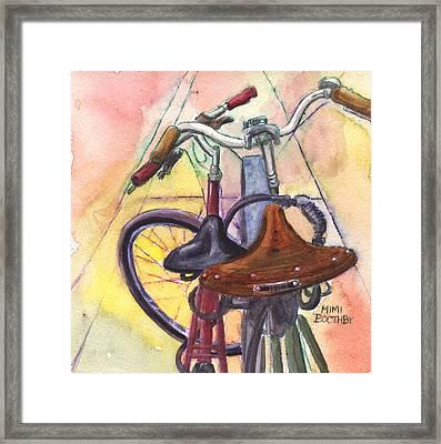 Bike Love Framed Print