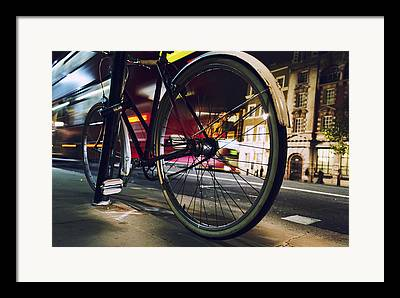 Business Cycles Framed Prints