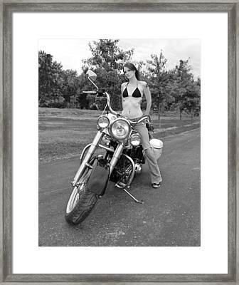 Biker Chic '61 Framed Print