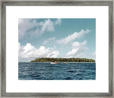 Bikini Atoll Framed Print