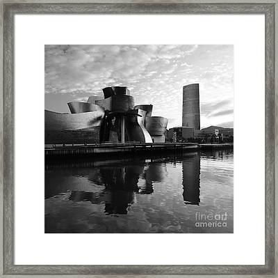 Framed Print featuring the photograph Bilbao 3 by Mariusz Czajkowski