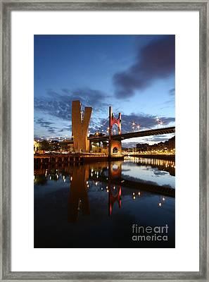Bilbao 4 Framed Print