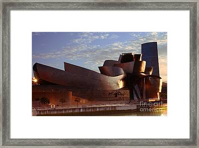 Framed Print featuring the photograph Bilbao by Mariusz Czajkowski