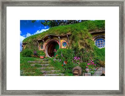 Bilbo Baggin's House 5 Framed Print