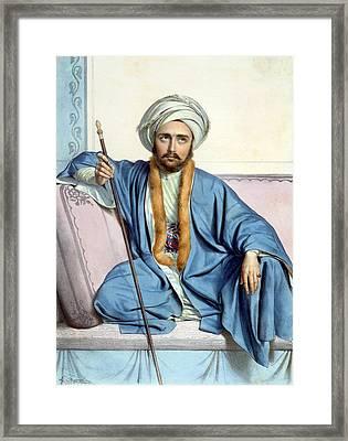 Bilesikdj, An Armenian - Plate Xxxv Framed Print by Louis Dupre