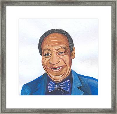Bill Cosby 02 Framed Print