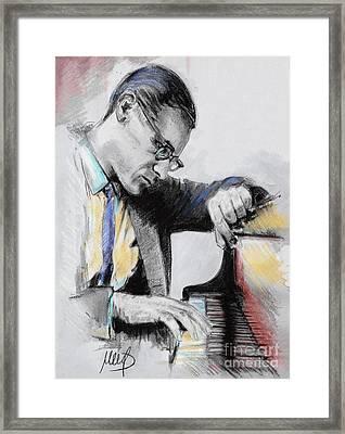 Evans Bill Framed Print