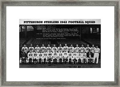 Pittsburgh Steelers Framed Print by Retro Images Archive