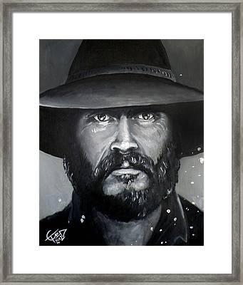 Bill Paxton - Mccoy Framed Print