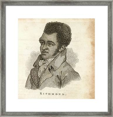 Bill Richmond Framed Print by British Library