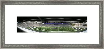 Bill Snider Stadium Framed Print by Paul Ganser