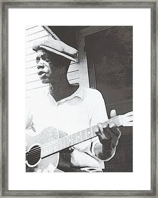 Bill Tatnall 1935 Framed Print by Daniel Hagerman