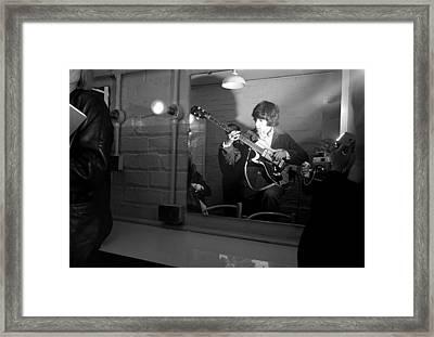 Bill Wyman Adelpji Theatre Dublin Framed Print