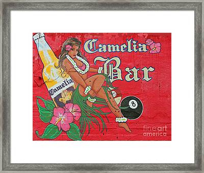 Billards Babes And Beer Framed Print