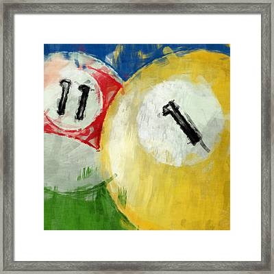 Billiards 11 1 Framed Print