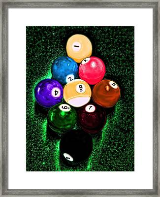 Billiards Art - Your Break Framed Print
