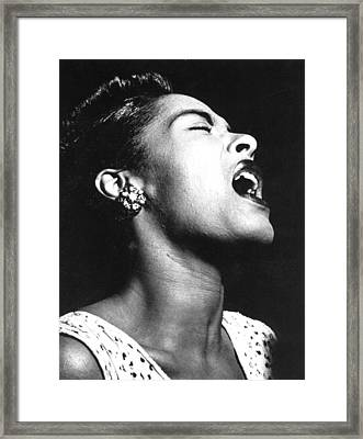 Billie Holiday (1915-1959) Framed Print by Granger