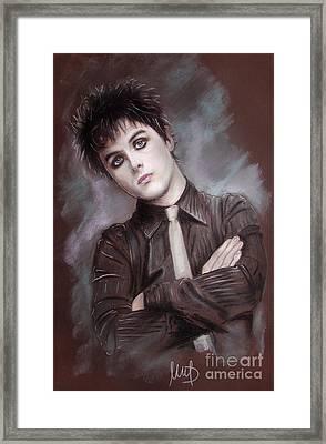 Billie Joe Armstrong Framed Print by Melanie D