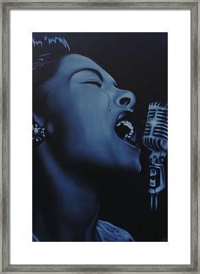 Billie Framed Print by Nicko Gutierrez