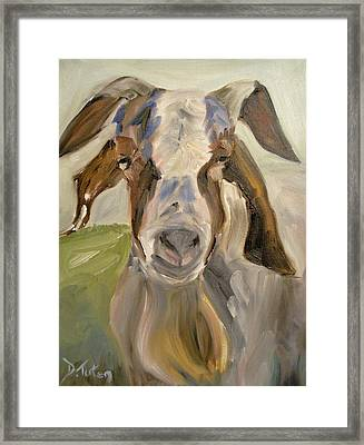 Framed Print featuring the painting Billy by Donna Tuten