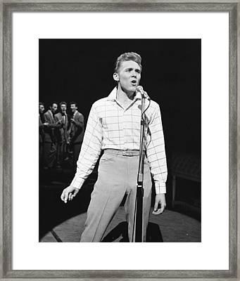 Billy Fury Framed Print by Silver Screen