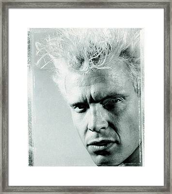 Billy Idol - Charmed Life Inner Sleeve 1990 Framed Print by Epic Rights