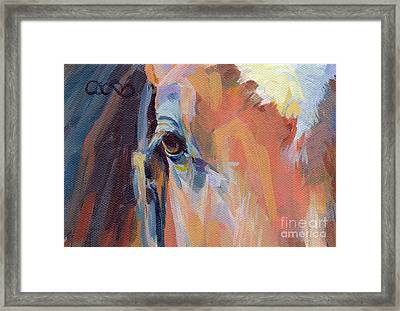 Billy Framed Print by Kimberly Santini