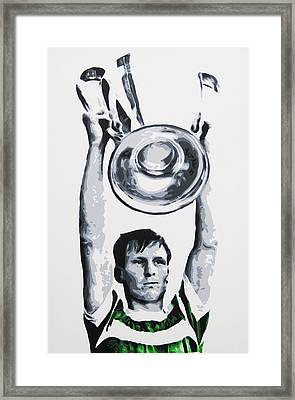 Billy Mcneill - Glasgow Celtic Fc Framed Print