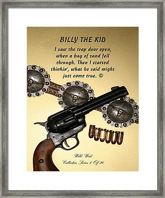 Billy The Kid 8 Of 20 Framed Print