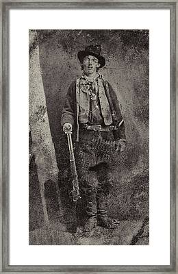 Billy The Kid C. 1879 Framed Print