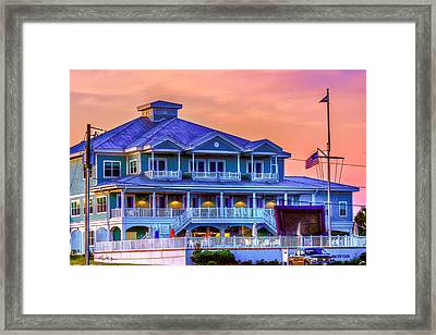 Architecture - Biloxi Yacth Club Framed Print by Barry Jones