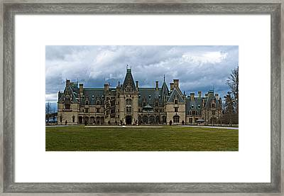 Biltmore Estate Framed Print by Christopher Gaston