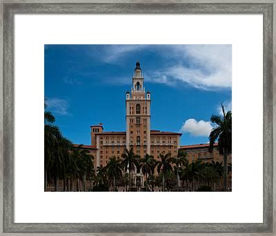 Biltmore Hotel Coral Gables Framed Print