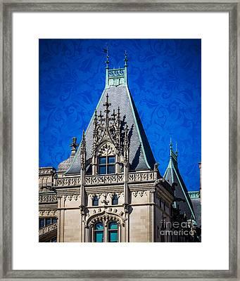 Biltmore Skies Framed Print by Perry Webster
